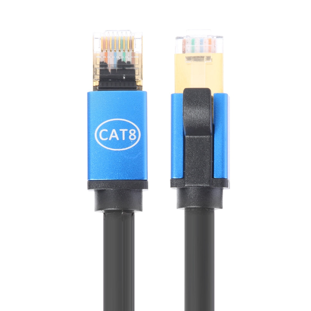 Cat8 Cable Ethernet SSTP 40Gbps supervelocidad gato 8 RJ45 red Cable de...