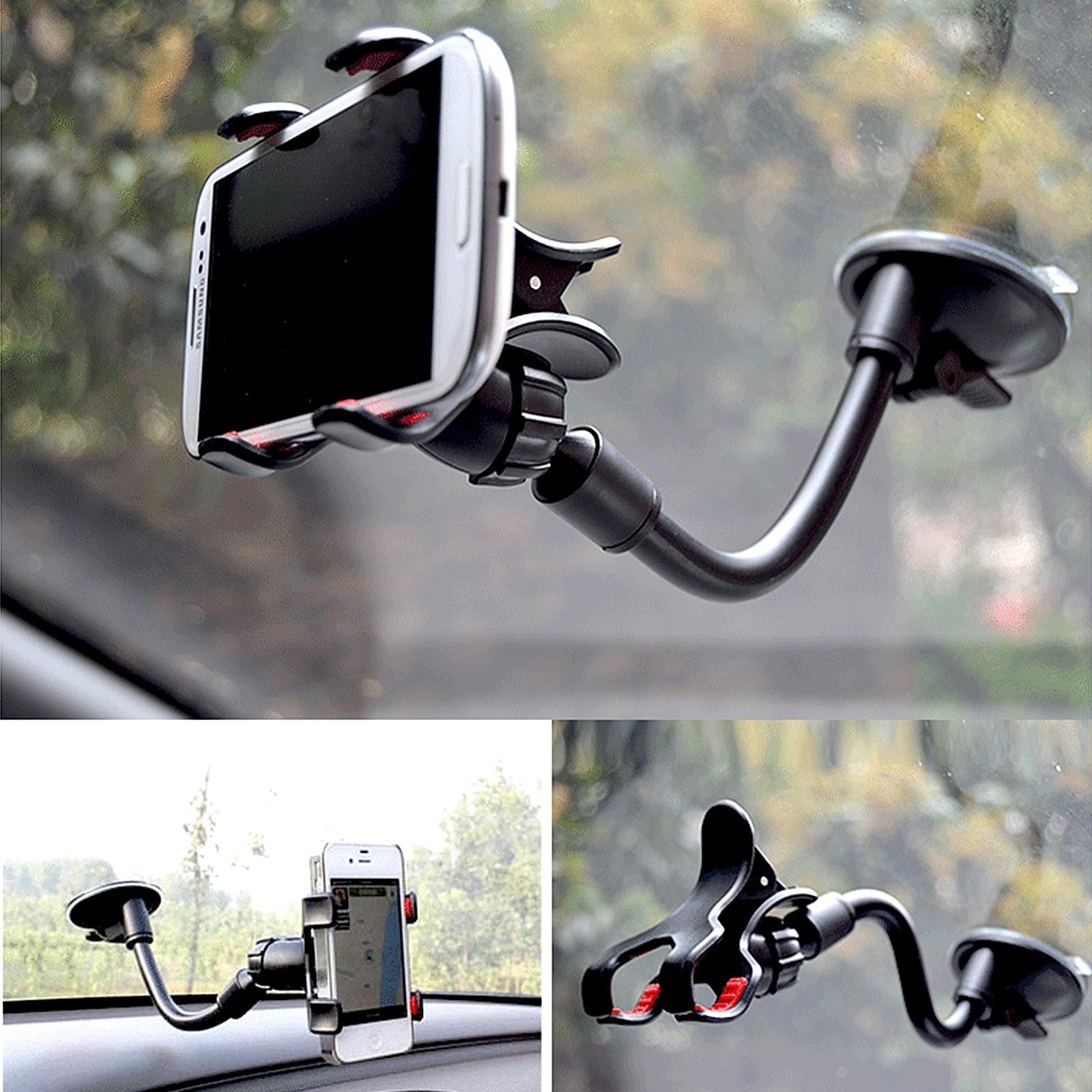 Вращающийся на 360 градусов держатель для автомобильной приборной панели, крепление для телефона, подставка, держатель для телефона для авто...