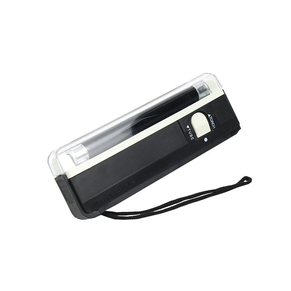 With Torch Handheld Security Counterfeit Currency Bill Flashlight Money Detector Banknotes Check Note Portable UV Lamp Fake