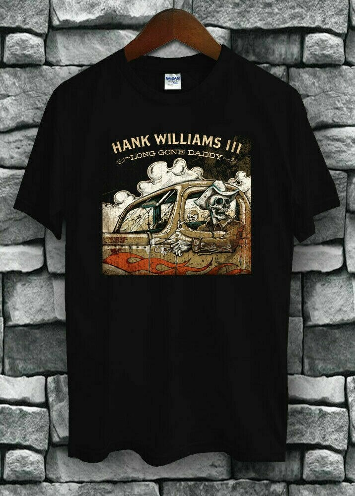 Hank williams III ido camiseta daddy nueva camiseta