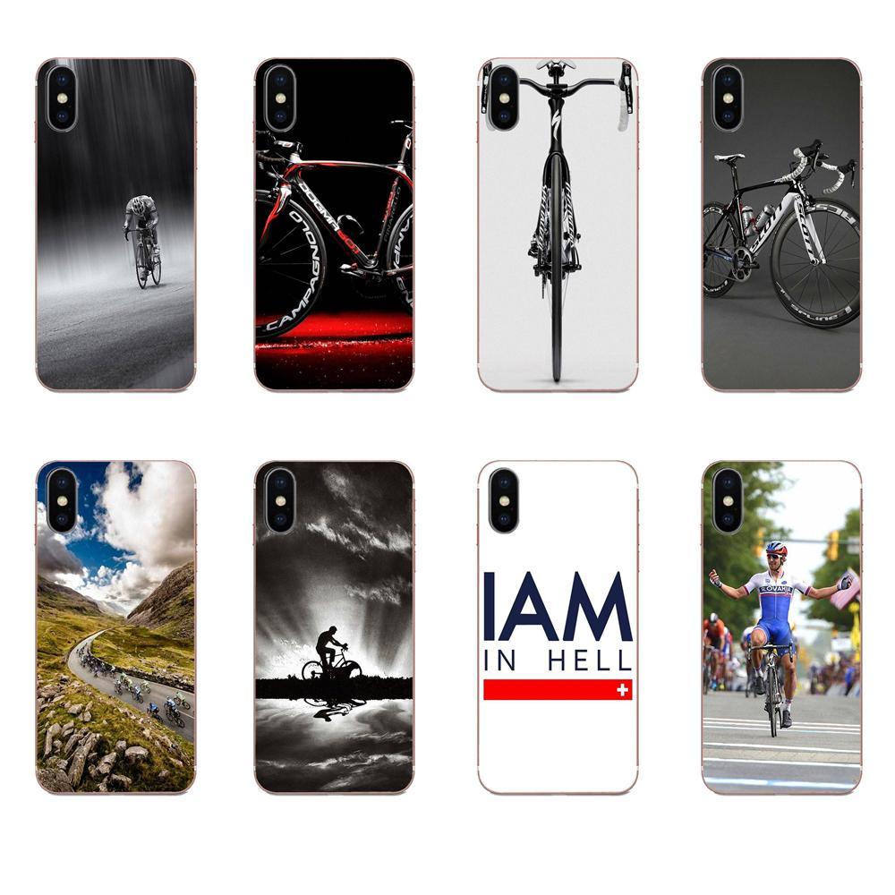 Fundas de poliuretano termoplástico para Galaxy Alpha Note 10 Pro A10, A20, A20E, A30, A40, A50, A60, A70, A80, A90, M10, M20, M30 y M40 con impresión de logotipo para bicicleta
