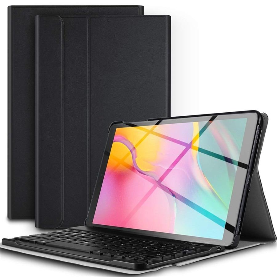 Teclado ruso/español funda para Samsung Galaxy Tab S5e 10,5 2019 SM-T720 SM-T725 Slim cubierta para Tab S5E 10,5