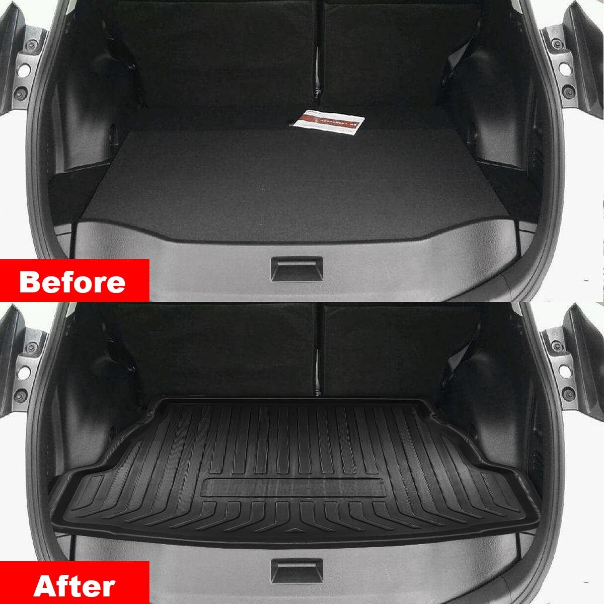 Nuevo forro Interior de maletero para coche, bandeja de maletero para cubierta de maletero, alfombrilla mate, alfombrilla para suelo, alfombrilla para Patadas para Toyota RAV4 2019 2020