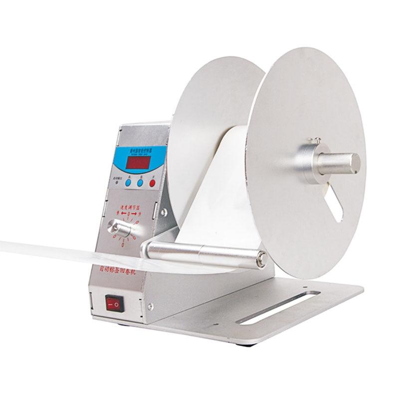 الرقمية التلقائي تسمية إعادة لف BT-H-115 الملابس العلامات بار كود ملصقات ماكينة اللف حجم قباضات الاسعار للسلع