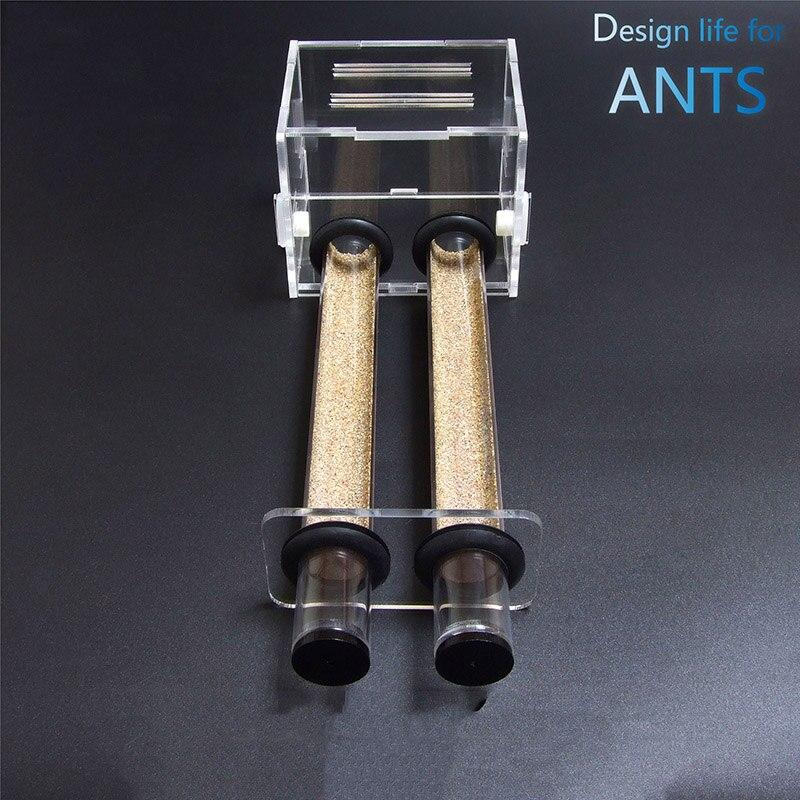 Tubo de Teste Ninho de Formiga Ninho de Slub Novo Duplo Diâmetro Formiga Biônica Oficina Villa Formigas Fazenda Casa 20mm