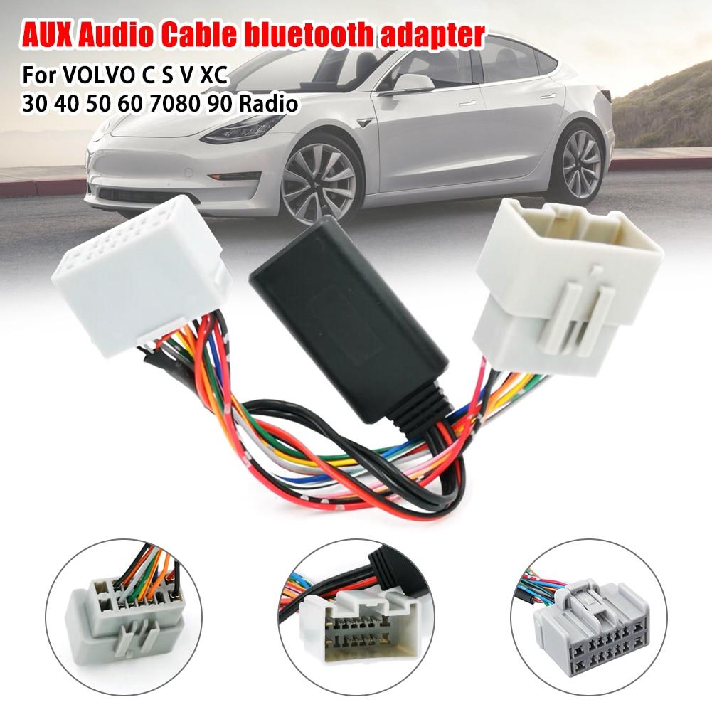 Receptor de Audio auxiliar para coche de adaptador con para Volvo C30......