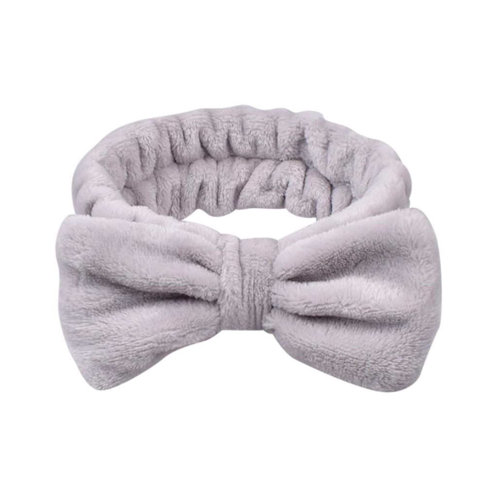 Laço de velvet lavagem facemeyard arco hairbands para mulheres menina anel de cabelo cabeça hoop feminino bandana elástica acessórios para o cabelo