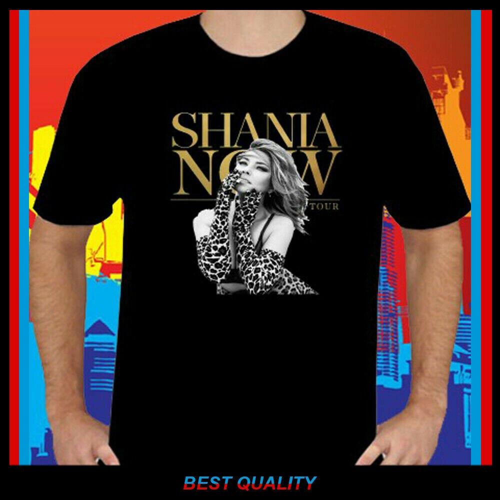 Nueva camiseta para hombre Shania Twain Tour 2018, música, leyenda, cantante S 2Xl