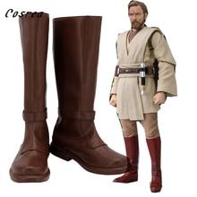 Ster De Laatste Jedi Anakin Skywalker Schoenen Cosplay Volwassenen Obi Wan Anakin Mens Vrouwen Laarzen Schoenen Halloween Lange Schoenen