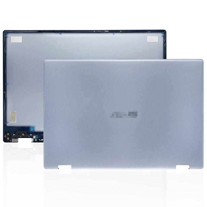 غطاء خلفي LCD أصلي جديد لأجهزة الكمبيوتر المحمول, لأجهزة ASUS VivoBook Flip 14 TP412 TP412U TP412UA غطاء خلفي للكمبيوتر المحمول غطاء معدني HQ207045941000
