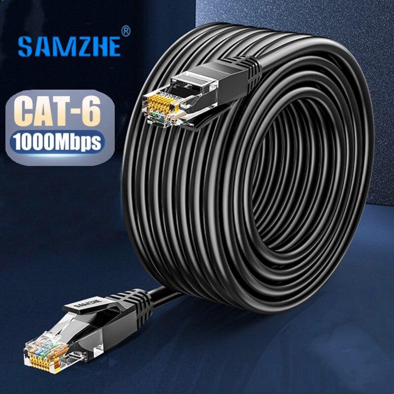 Cable Ethernet Cat6, UTP Cable Lan RJ45, Parche de red de 20m,...