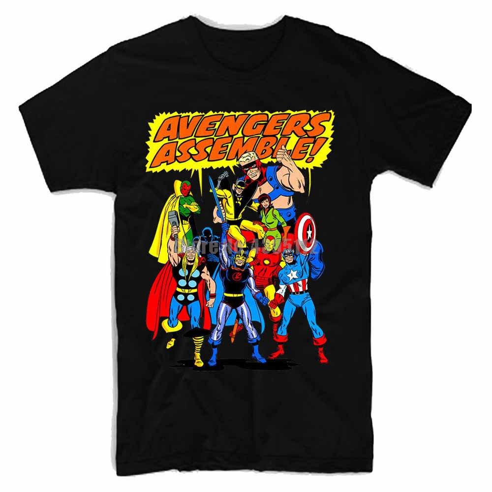 Avengers Womens Funny T Shirts Fitness Clothing Tshirt Cool Logo Tee Shirt Custom T-Shirt Plus Size Women