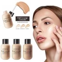 liquid foundation facial concealer waterproof liquid skin tone base makeup moisturizing eyes dark circles cosmetics wholesale