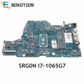 NOKOTION For HP 17-BY Laptop Motherboard SRG0N I7-1065G7 CPU DDR4 L87452-001 L87452-601 SNAPE01-6050A3168901-MB-A02