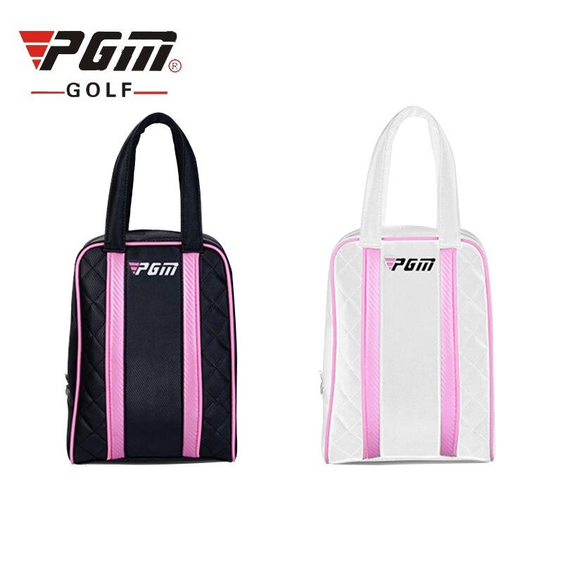 Pgm Golf Shoes Bag hombres y mujeres Durable Nylon Material Golf bolsas prácticas Mini bolsos de mano portátil D0051