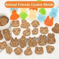 lovely animal friends cookie molds for baking biscuit mould diy cookie mold 3d cartoon kitchen tool sets