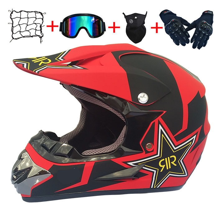 Universal capacete da motocicleta fora de estrada modular acessórios de moto capacete de motocross rosto cheio capacete mtb dh downhill capacete