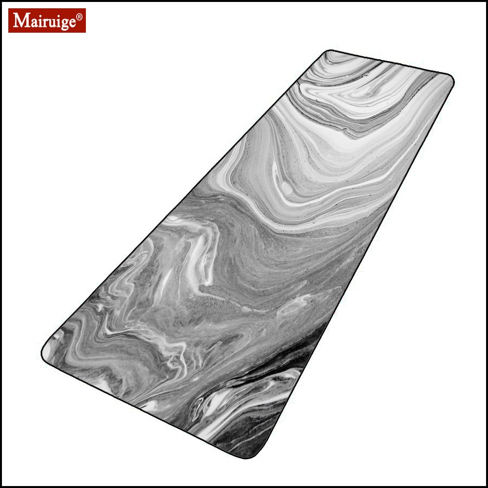 Large Mousepad 900x400mm/800X300MM Marble Black and White Pop Office Deak Mats DIY Custom Keyboard Pad Gaming Mouse Pad XXL custom original night and cat nature series mouse pad