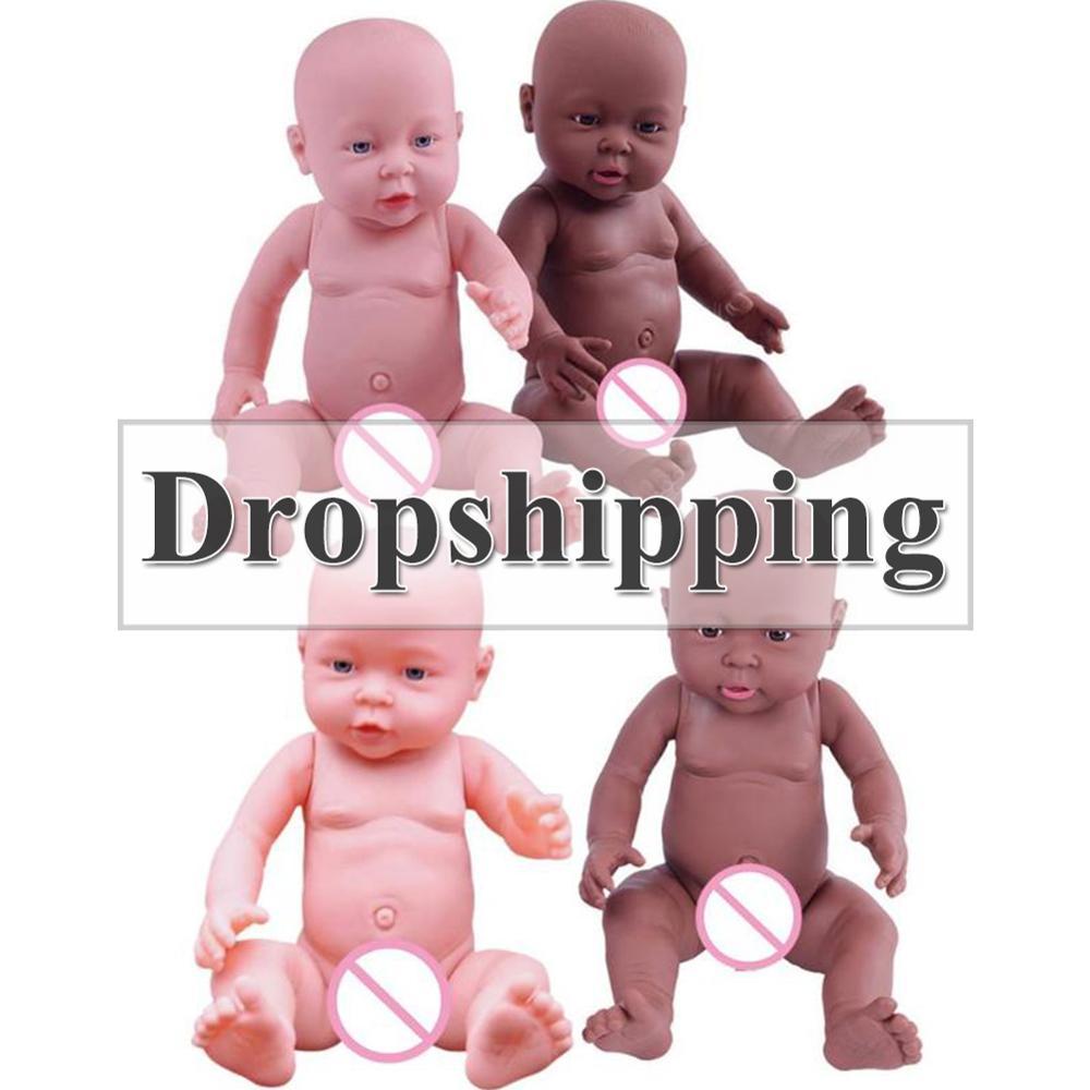 30/41cm Baby Simulation Doll Soft Children Reborn Baby Doll Toy Newborn Boy Girl Emulated Dolls Baby Growth Partner Kindergarten