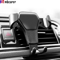 Гравитационное автомобильное крепление для телефона, держатель, автомобильная подставка с зажимом для вентиляционного отверстия, сотовый ...