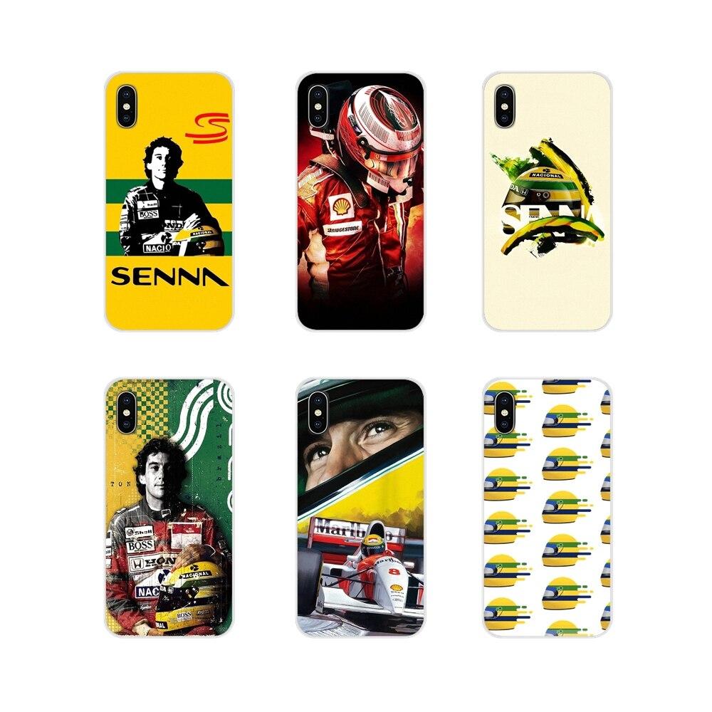 Аксессуары для телефона, чехлы для Xiaomi Redmi Note 3 4 5 6 7 8 Pro Mi Max Mix 2 3 2S Pocophone F1 ayrton senna racing