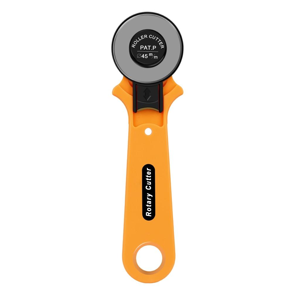 1PC 28mm 45mm roue couteau pour vêtements Patchwork acier rond rotatif rouleau Cutter pour outils de bricolage bureau coupe papier travail