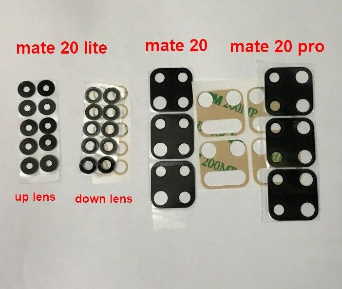 200 قطعة جديد لهواوي ماتي 20 30 P20 برو P30 لايت P40 برو 5 جرام الخلفية الكاميرا الخلفية غطاء Lens مع لاصق ملصق