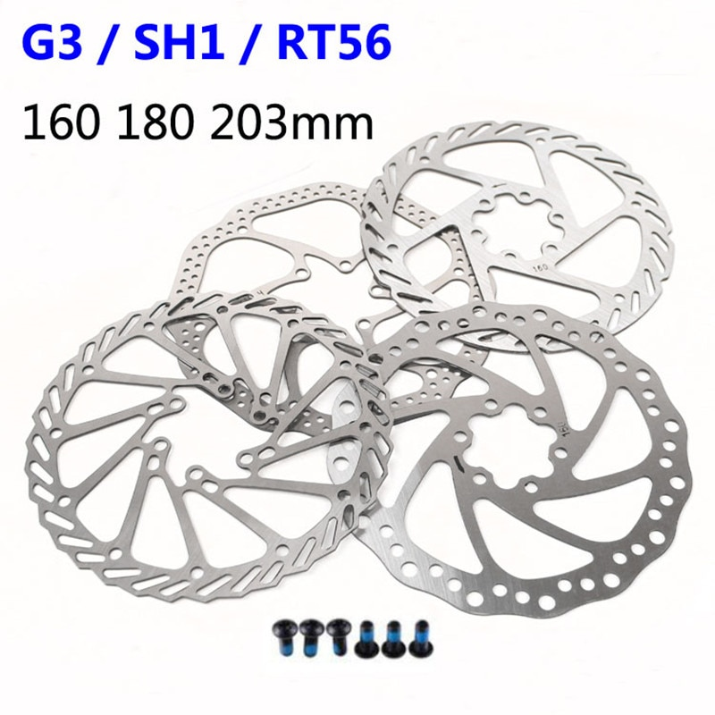 Freno de bicicleta SRAM Avid HS1/G3/ 160/180/203mm Shimano SM RT56 de frenos...