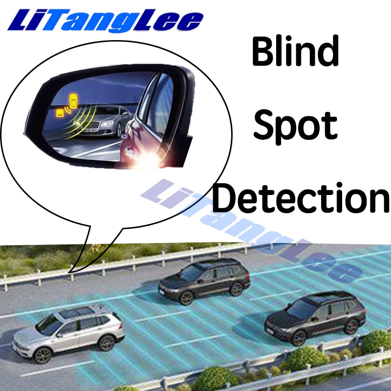 نظام BSM للسيارة مزود بمرآة لتحديد المناطق العمياء مع نظام تنبيه لسلامة السائق ونظام اكتشاف الرادار الخلفي للسيارة Audi A8 A8L D5 2018 2019 2020