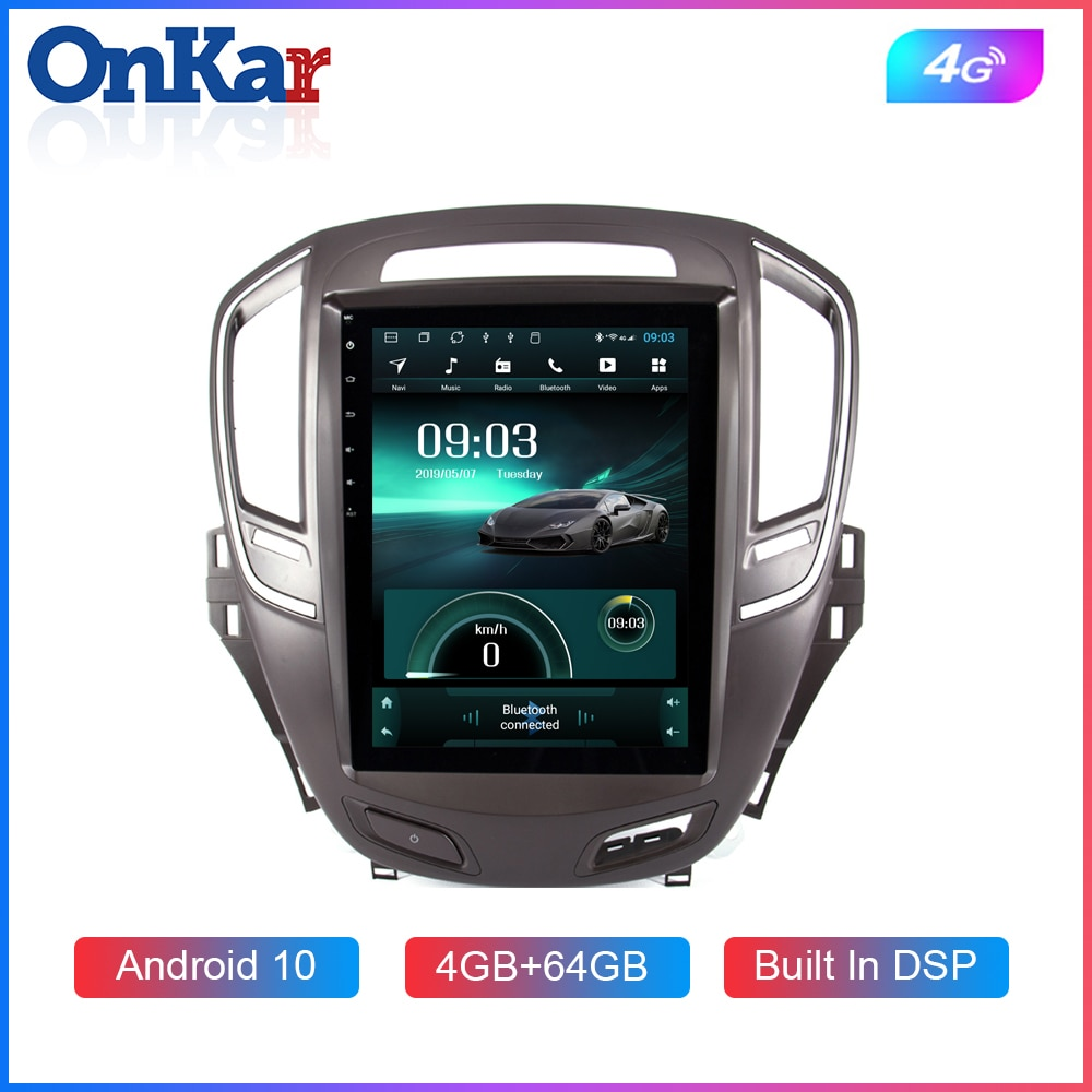 OnKar de pantalla Vertical para Buick/ Opel Insignia CD300 CD400 Regal Vauxhall 2014-2016 con Android 8,1 Octa Core sistema 4GB + 64GB