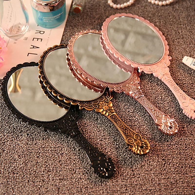 Espejo decorativo Miroir, espejo decorativo De Pared, Mural De Decoración De Casa, mango Floral Vintage