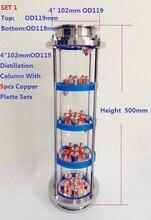 Nouvelle colonne de lentilles de Distillation de 4