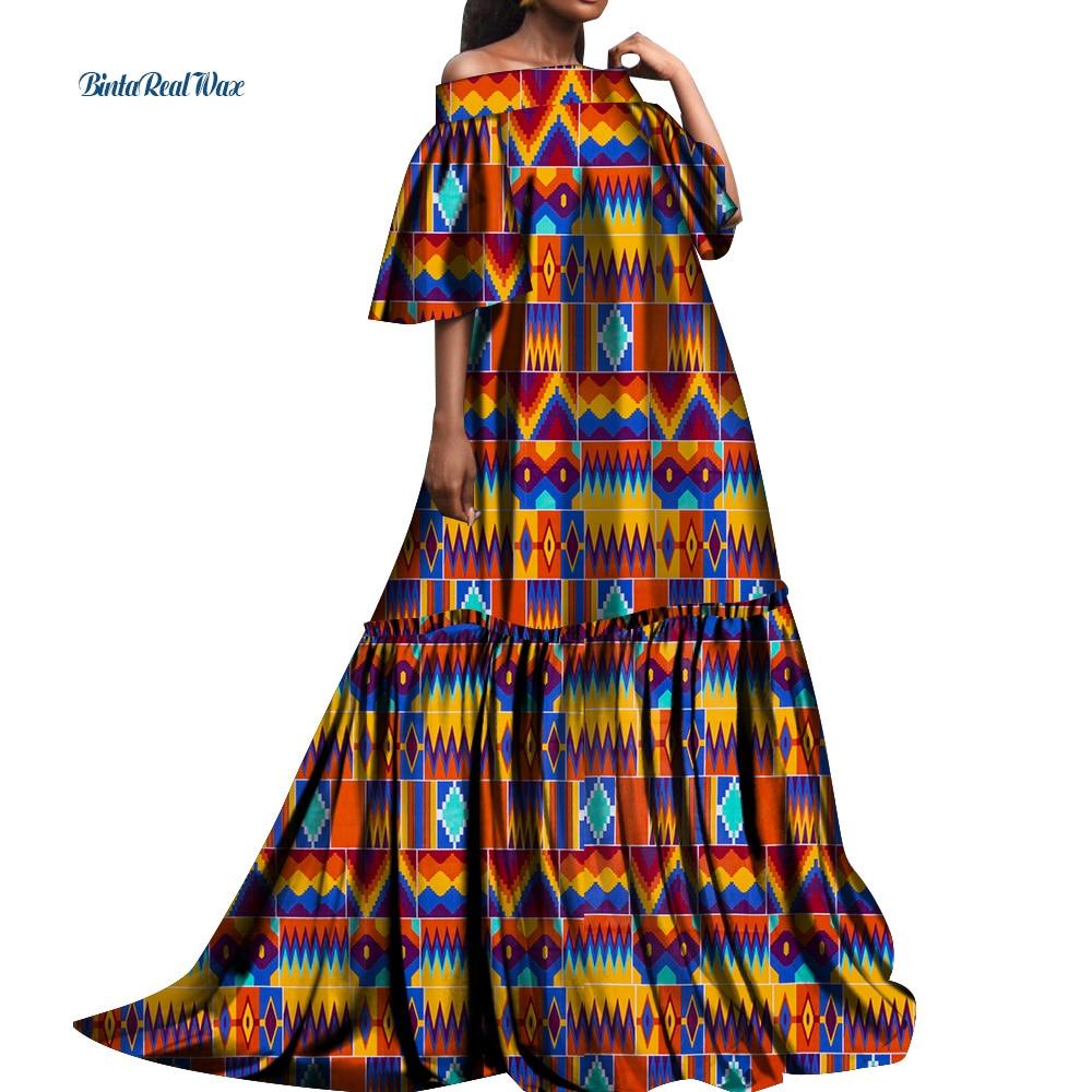 Африканские платья для женщин, длинные платья, базин богатые африканские платья для беременных женщин, вечерние платья для беременных из Ан...