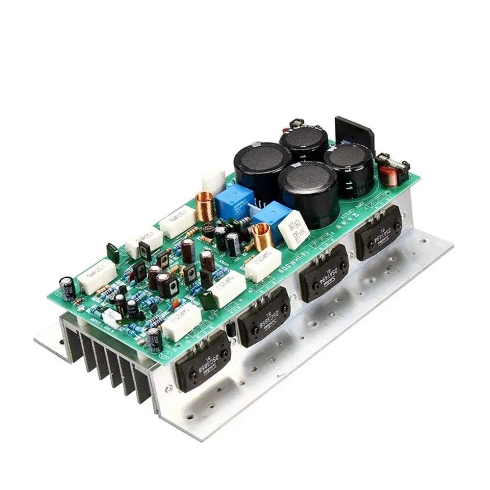 SanKen 1494/3858 عالية الطاقة HIFI مضخم الصوت مجلس ثنائي القناة 450 واط + 450 واط ستيريو أمبير أحادية 800 واط مكبر للصوت مجلس للصوت DIY بها بنفسك
