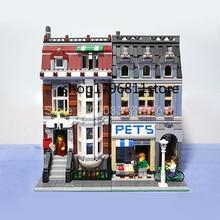 15009 Creator Series Street View Pet Shop Building Blocks Model Toys Sets 2128pcs Bricks Compatible Creator 10218