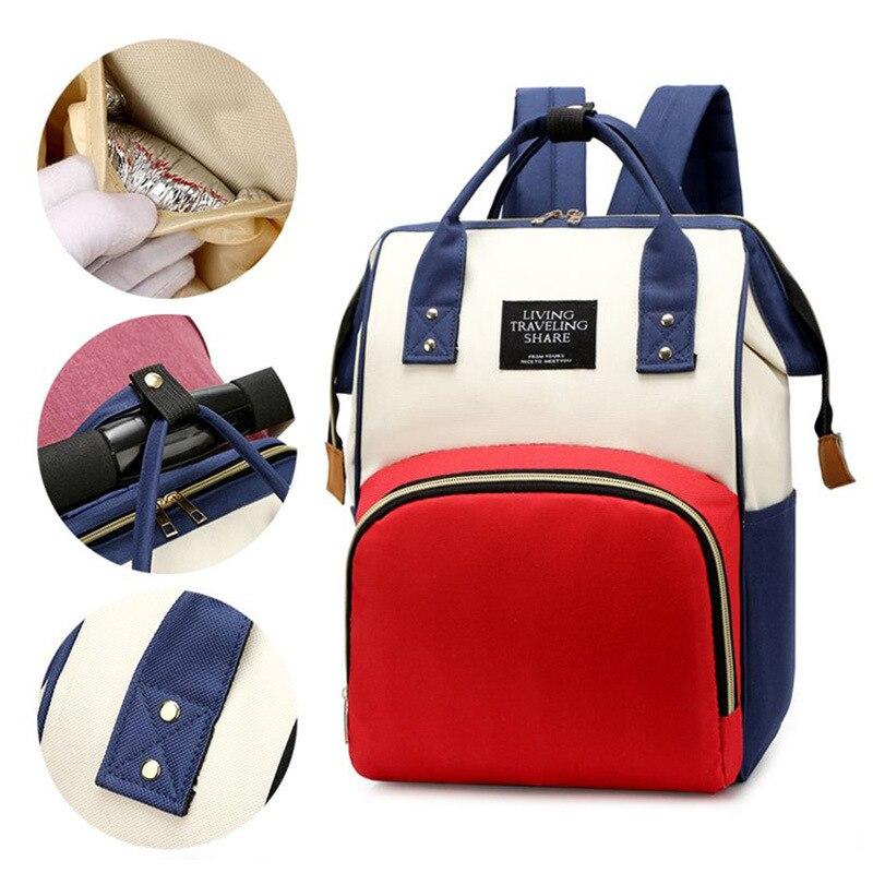 Модная сумка для мамы, вместительный рюкзак, Портативная сумка для мамы, женская сумка для мамы и ребенка, сумка для мамы, дорожная сумка для ...
