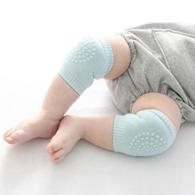 Kids Non Slip Baby Knee Pads Infants Toddlers Baby Accessories Smile Knee Pads Protector Safety Knee