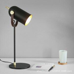 American Table Lamp Vintage Loft Wooden Led Desk Lamp  Reading Light Office Lamp Home Lighting Decor Stores WJ817