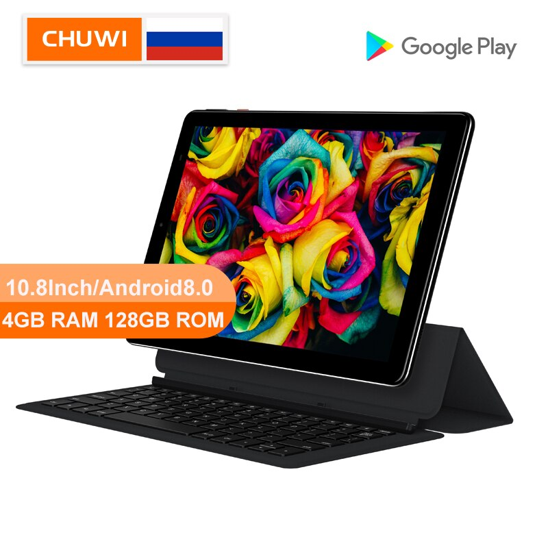 CHUWI Original Hi9 Plus 10,8 pulgadas Tablet PC MediaTek Helio X27 Deca Core Android 8,0 4GB de RAM 128GB ROM 2K pantalla doble 4G Tablet