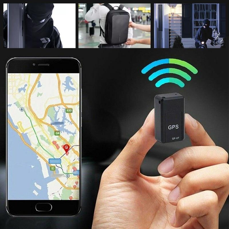 Localizador de rastreador Mini GPS para coche Anti-robo rastreador en tiempo Real rastreador GPS de coche Anti-Pérdida dispositivo de seguimiento de grabación Control de voz