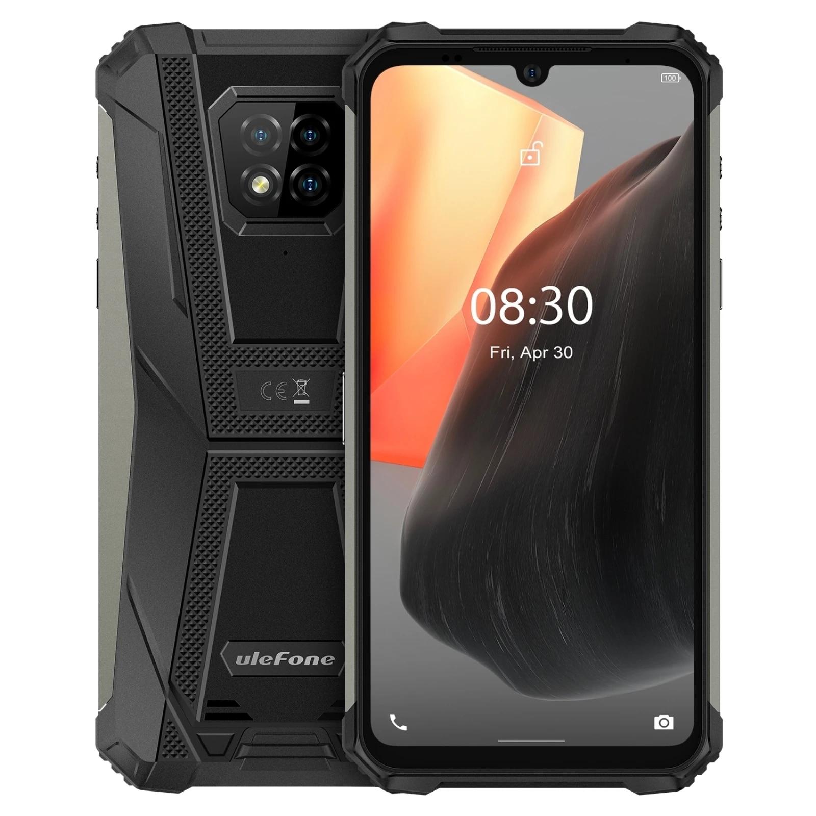 Ulefone Armor 8 Pro Waterproof Mobile Phone 6GB+128GB Android 11 Rugged Smartphone 5580mAh Helio P60 Octa Core NFC OTG Cellphone