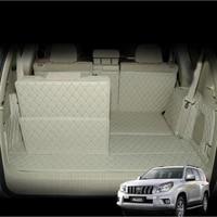 for fiber leather car trunk mat cargo mat for lexus gx460 2009 2010 2011 2012 2013 2014 2015 2016 2017 2018