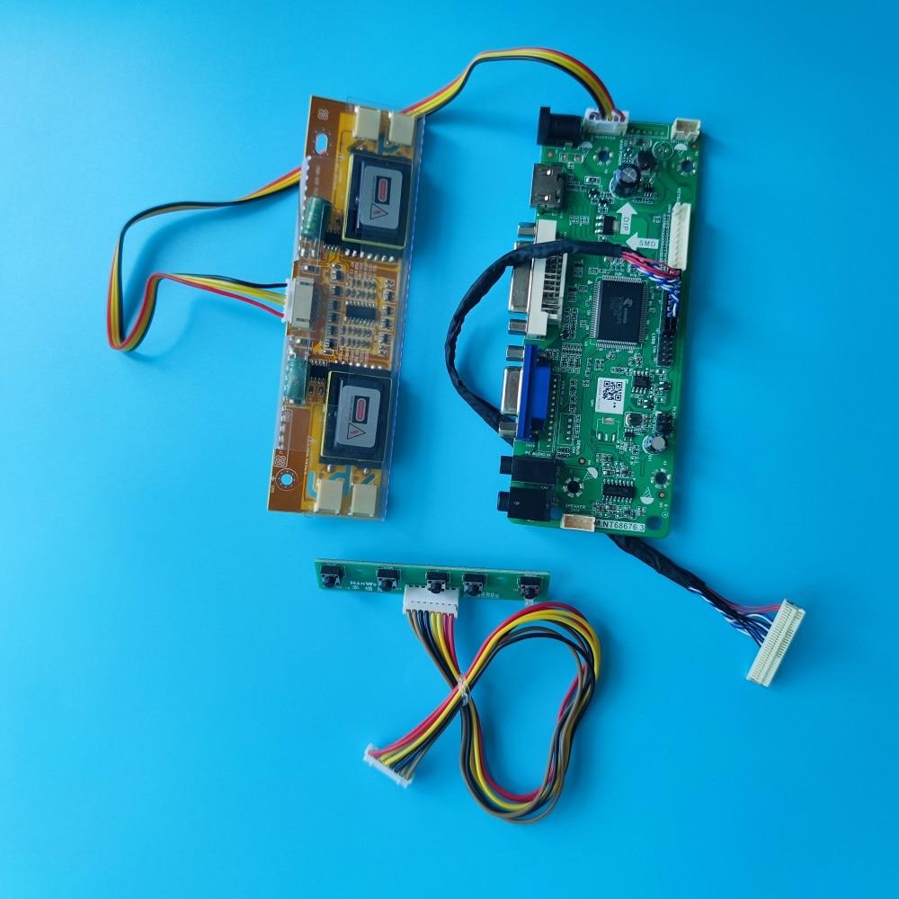 عدة ل LM190E03-TLD1/TLC1/TLBF/TLBB/TLB4 30pin لوحة تحكم مجلس LVDS 4 مصابيح M.NT68676 لتقوم بها بنفسك 19
