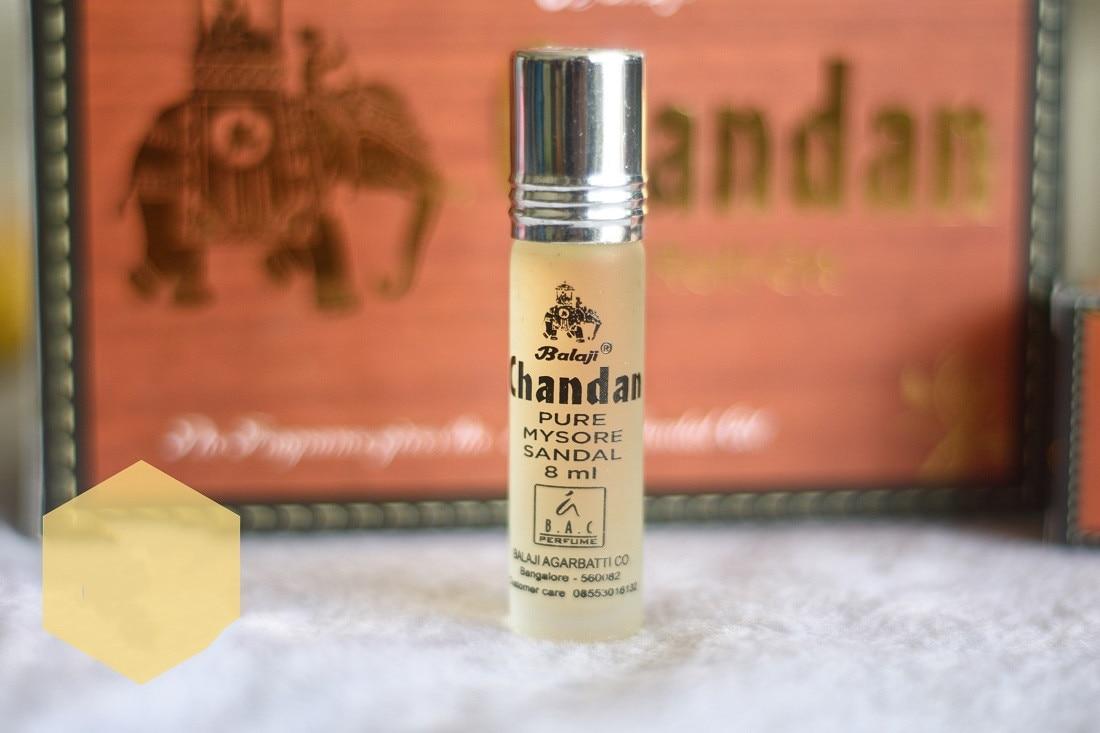 يحتوي على الزيوت العطرية والعطور ، خشب الصندل القوي 8 مللي عطر عطر خشب الصندل بدون كحول