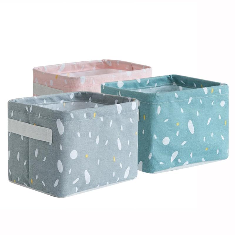Cesta de armazenamento de desktop à prova dwaterproof água diversos roupa interior brinquedo caixa de armazenamento organizador cosméticos papelaria recipiente cesta de lavanderia