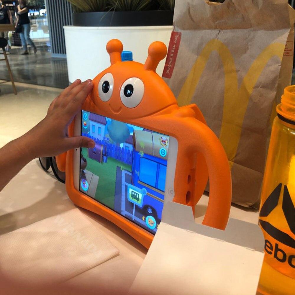 Ipad Mini 1 2 3 4 children's cartoon tablet case, shockproof full set of ipad Mini case with bracket, 5. enlarge