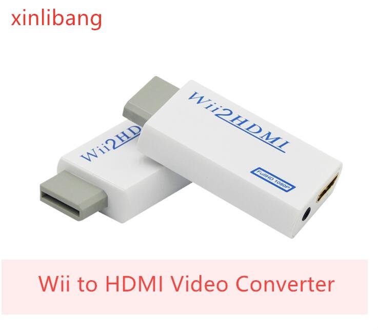 Adaptador convertidor Wii a HDMI FullHD 1080P Wii a HDMI Wii2HDMI convertidor...