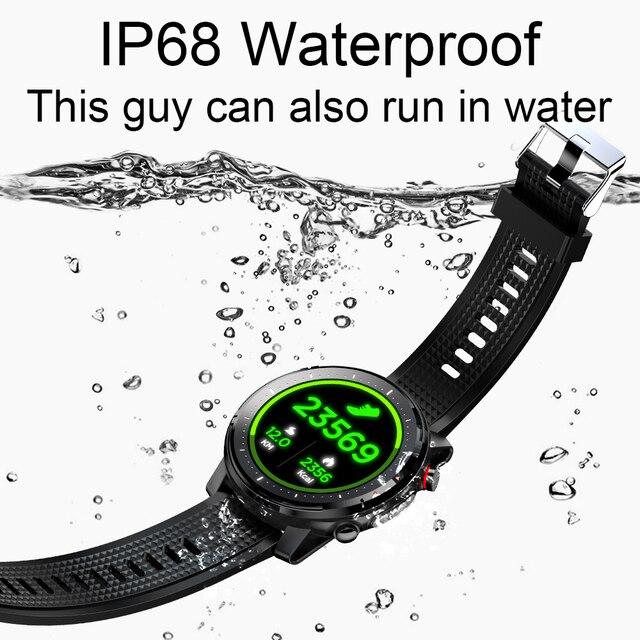 Ipbzhe Smart Watch Men Waterproof IP68 Sport Smartwatch Android Reloj Inteligente 2021 Smart Watch For Men Women Huawei Xiaomi 6