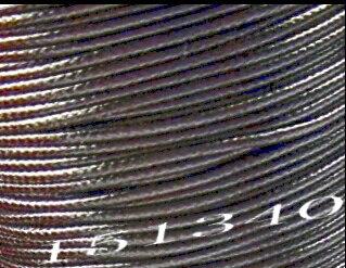 Fil 1mm 80M gros noir coton ciré collier cordon fil ciré Polyester cordon collier corde