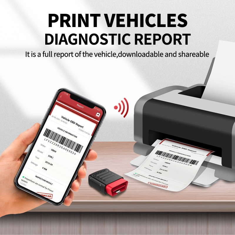 THINKCAR MUCAR BT200 Automotive Obd2 Scanner for Auto Oil SAS Reset obd2 Full System Diagnosis Diagnostic Tool PK Thinkdiag Mini